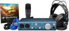 PreSonus AudioBox iTwo Studio Recording Kit Headphones Mic Software Apple New
