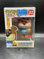 Funko Pop! Ad Icon Golden Crisp Sugar Bear # 22 Target Exclusive Vinyl Figure