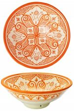 Farbige Keramikteller Keramik Schale Geschirr Teller Mediterran Rund Deko Bunt