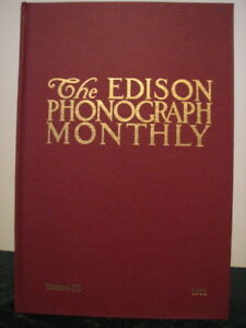 Scarce Edison Phonograph Monthly Collectors Book #9 NEW