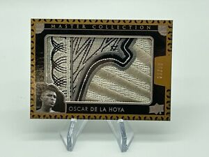 2016 UD All Time Greats Master Collection OSCAR DE LA HOYA Logo Patch 31/50