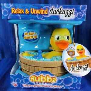 Duckuzzi Rubba Duck Rubber Duck Jacuzzi Hot Tub NIB New!