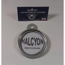 Halcyon Disco De Impuestos Titular Nº 271 Gris Plata Acabado Tornillo Tipo Cubierta