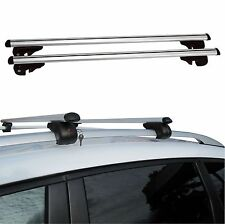 120cm Universal Aluminium Car Roof Bars Rack Locking Aero Cross Rails