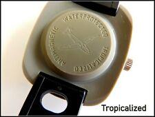 Sammleruhr UMF Ruhla Tropicalized  Herrenuhr Kunststoff Kaliber 24 Fliegeruhr