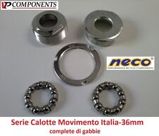 0105 Serie Calotte Movimento Centrale Italia-36mm per bici 26-28 Fixed Scatto Fi