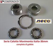 0105 Serie Calotte Movimento Centrale Italia-36mm per bici 20-24-26 Graziella