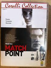 Scarlett Johansson PARTIDO PUNTO ~ 2005 Leñoso Todo Suspense Italiano DVD