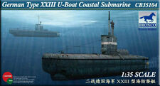Bronco 1/35 35104 German Type XXIII U-Boat Coastal Submarine