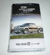 2014 DODGE RAM USER GUIDE OWNERS MANUAL SET w/case 14 DVD 1500 2500 3500 NEW