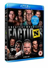 WWE Wrestling's Greatest Factions 2er [Blu-ray] NEU nWo DX Shield Evolution
