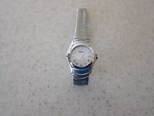 women's ebel classic sport mini watch 9157F11, quartz, battery, stainless steel