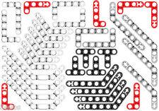 34 Lego Technic Studless ANGLED Beams (mindstorms,technic,brick,liftarm,ev3,car)