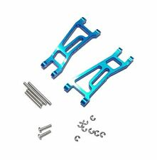 LOSI MINI-T LATE-MODEL GPM FRONT A-ARMS BLUE ALUMINUM SMT055