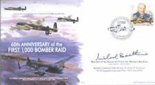 MF3 WW2 RAF Avro Lancaster 1000 Bomber Raid RAF cover signed MRAF Beetham DFC