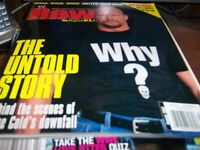 WWE Raw Magazine August 2002 Sone Cold Steve Austin