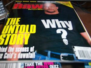 WWE Raw Magazine August 2002 Sone Cold Steve Austin