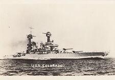 U.S.S. COLORADO BATTLESHIP ~ c. -1921