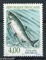 FRANCE - 1990 - timbre 2665, ANIMAUX, POISSONS, SAUMON, neuf**