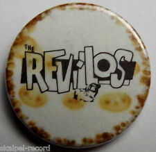 THE REVILLOS/REZILLOS Vintage 70`s/80`s 25mm Button Pin Badge Punk Rock RV105