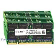 New Lots 10pcs 1GB PC3200 DDR1 400MHZ 200-Pin SO-DIMM Laptop Memory NON-ECC Ram