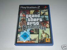 PS2 - Grand Theft Auto San Andreas ** Playstation 2 GTA Spiel