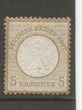 Germany 1872 5gr Blister Brown Small Shield sc 6 CV$875 Mint