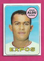 1969 TOPPS # 22 EXPOS JESUS ALOU NRMT-MT CARD (INV# C5245)