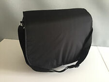 BNWT Tiny Little Wonders Brand Black Satchel Style Nappy Bag with Change Mat