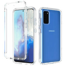 For Samsung Galaxy A51 71 4G Case Shockproof Clear Transparent Rubber TPU Cover