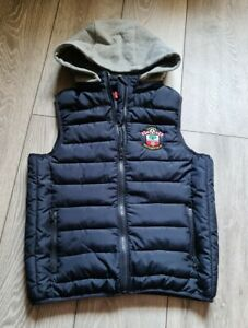 Boys Southampton Fc Warm Gilet Bodywarmer Size 7-8 Years