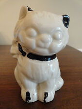 Vintage Pottery Cat / Kitten Coin Penny Bank