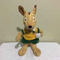 Wally The Wallaby Australia Wallabies Rugby Mascot 2003 Stuffed Plush Toy