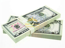 USD $5 100Pcs Toy currency Fake Paper Money MOVIE PROP MONEY