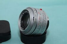 Leica Summicron-M 35 mm f2 ASPH Lens chrome avec Maker's Box (11882) 6 Bits