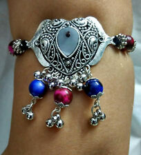 Armband Bracelet Gypsy Kuchi Ats Boho Tribal Armlet Belly Dance Costume Jewelry