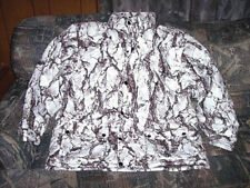 Mens XL Snow Camo Jacket Snow Parka Natural Gear Insulated Cold Weather Coat XL