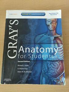 Anatomy textbook - Grays anatomy for student