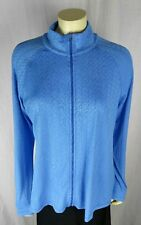 LUCY Women's Zip Up Athletic Jacket Blue Athletic Running Yoga Size XL