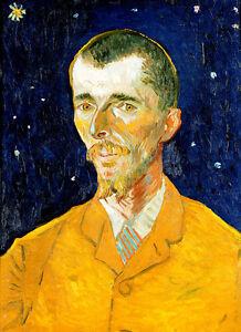 Eugene Boch by Vincent van Gogh 75cm x 54.5cm High Quality Canvas Print