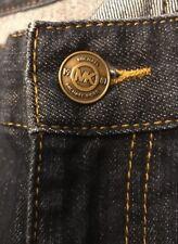 22W Michael Kors Wide Leg Dark Wash Women's Jeans