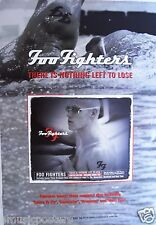 """Foo Fighters """"Nothing Left To Lose"""" Australian Promo Poster:Swimmer with Ff Tat"""