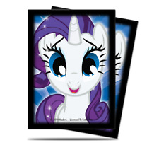 My Little Pony Rarity Standard Deck Protector Card Sleeves 65pcs 84316
