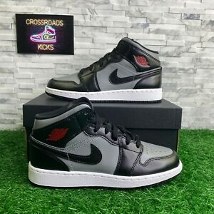 Nike Air Jordan 1 Mid Shadow GS SIZE 6Y / 7.5W High Retro OG Black 554725-096