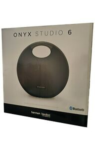Harman Kardon Onyx Studio 6 Wireless IPX7 Waterproof Bluetooth Speaker Black New