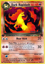 Dark Rapidash - 44/82 - Uncommon - 1st Edition Team Rocket Pokemon Near Mint