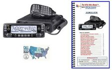 Icom IC-2730A VHF/UHF 50W Mobile Radio with Nifty! Accessories Mini-Manual