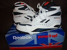 Vintage Reebok Pump Battleground Blacktop USA Size 6 1990's Original Hi Tops