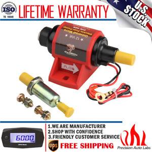 42S Universal Micro Electric Fuel Pump Low Pressure 12V 2-3.5 PSI 42GPH Gasoline