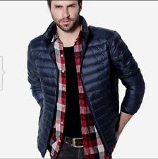 Piumino 100 grammi giacca uomo giubbino slim fit uomo giubbotto leggero  s/3xl